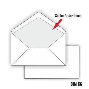 Das Bild Wird Geladen Briefumschlaege DIN Lang  C6 Weiss Gefuettert Umschlaege Futter