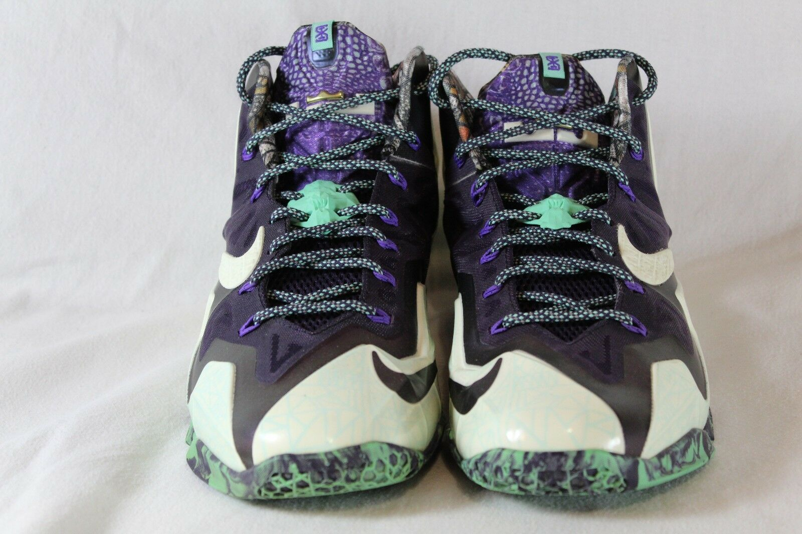 Nike Lebron 11 AS Gumbo Gumbo Gumbo League Size 10.5 647780-735 Pre-Owned Great Condition ae1f64