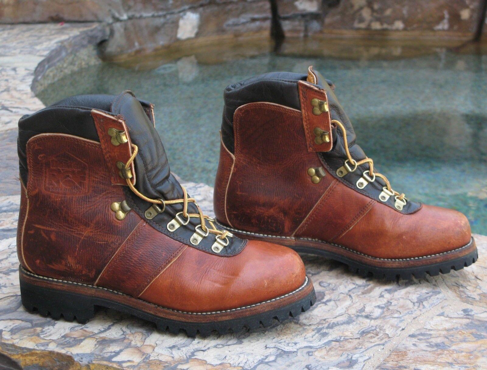 Dexter Vtg ROF Work Hiking Boots Men Sz 8 M Heavy Duty Leather Composite Toe