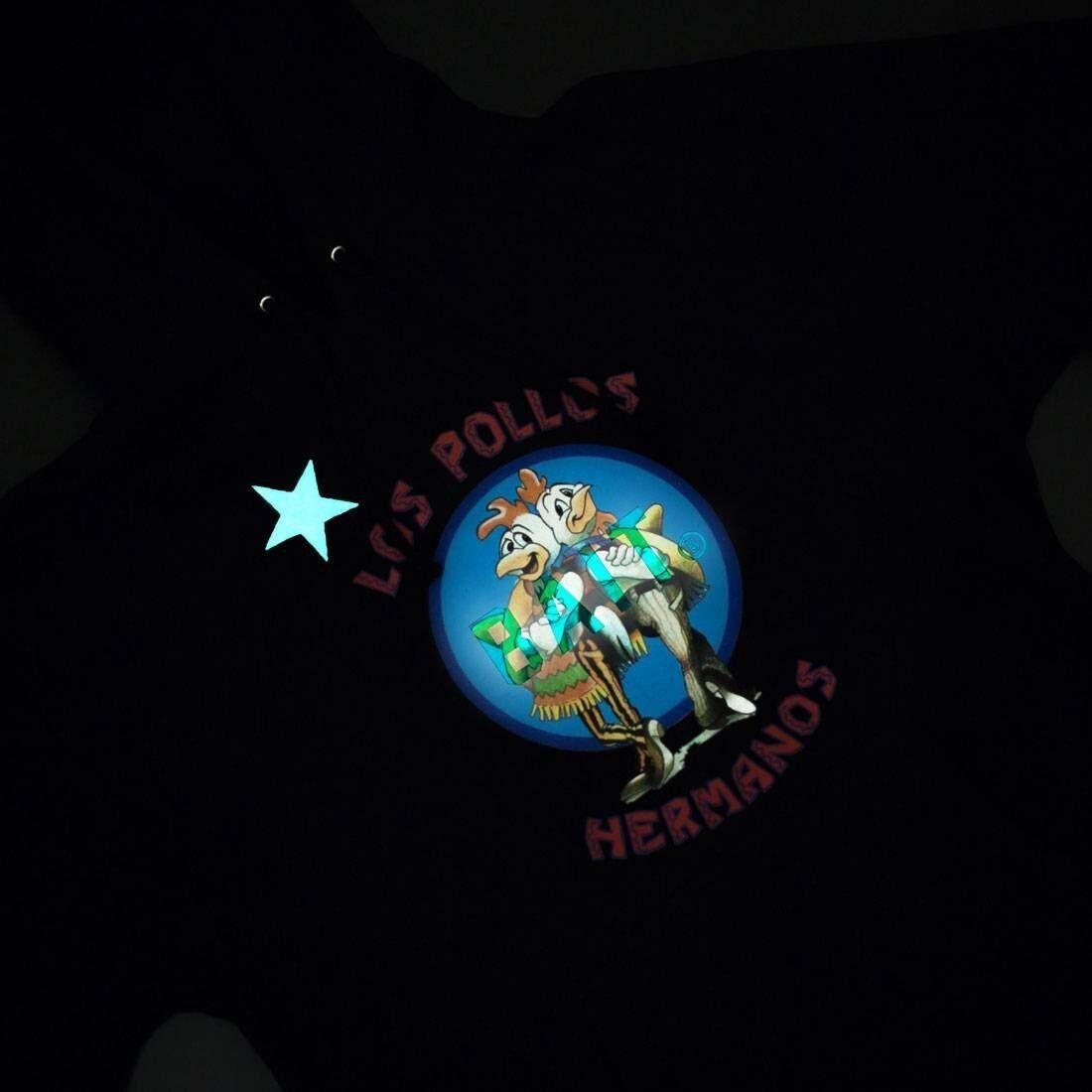 BAIT x Breaking Bad Men Los Pollos Hermanos Hoody - Glow In The Dark black