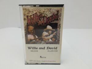 Willie-Nelson-amp-David-Allan-Coe-Cassette-Tape-Why-Me-Night-Life-Ride-Me-Down