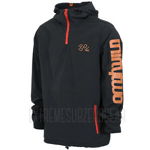 THIRTYTWO thirty-two Mens 2018 Snowboard Snow - 4TS Stack Pullover Hoodie- Black