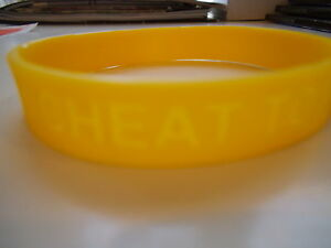 Image Is Loading Parody Lance Armstrong Yellow Rubber Bracelet 034 Cheat