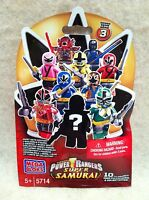 MEGA BLOKS Power Ranger Super Samurai Yellow Ranger Series 3 Factory Sealed!