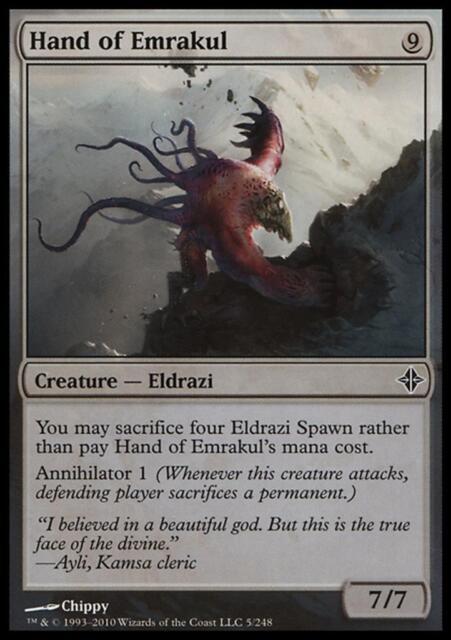 MTG Magic - (C) Rise of the Eldrazi - Hand of Emrakul - SP