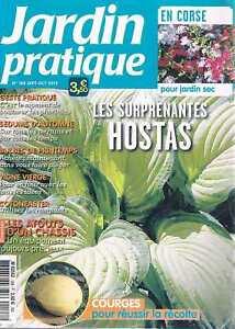 Distingué Jardin Pratique N°188 Sept 2012 Hostas Une Gamme ComplèTe De SpéCifications