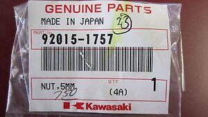 K1 GENUINE KAWASAKI WELL NUT OEM 92015-1757 (SEE FITMENT BELOW)
