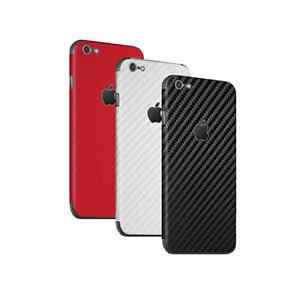 For-Apple-iPhone-Skin-Case-Wrap-Sticker-Decal-3D-Textured-Carbon-Fibre-Protector
