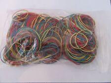 Bandas De Goma Elásticas Color 200g Aprox. 480 bandas