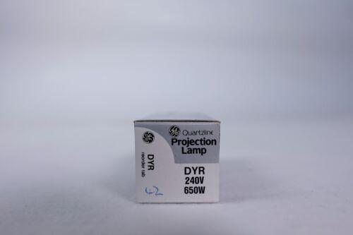 GE DYR 240V 650W Quartzline Projection Lamp 5er Pack