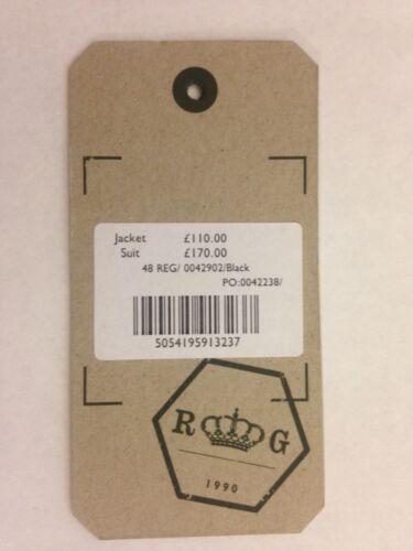 "SIZE 36 44 48 /"" /'RACING GREEN BRAND/' BLACK WEDDING DRESS TUXEDO JACKET RRP £110"