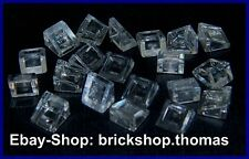 Lego 20 x Dachstein transparent 1x1 - 50746 54200 Slope trans clear - NEU / NEW