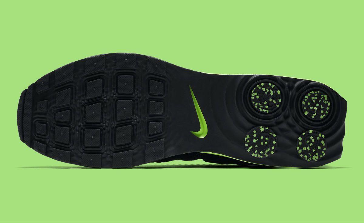 1d89289592984 ... Nike Shox Gravity Luxe Luxe Luxe Black Green Strike AR1470-003 Men s SZ  8 e3e9a1 ...