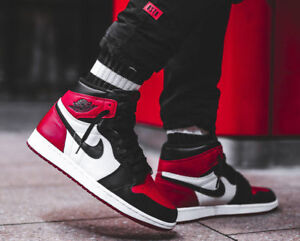 check out 60f71 64fe1 Image is loading Air-Jordan-1-Retro-High-OG-Gym-Red-