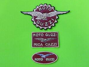 MOTO-GUZZI-KIT-PELLE-3-PATCH-TOPPE-RICAMATE-TERMOADESIVE