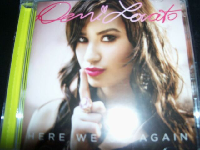 Demi Lovato Here We Go Again (Australia) CD – Like New