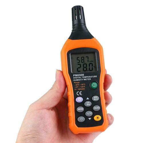 2in1 LCD Digital Thermo Hygrometer Lufttemperatur Feuchtemessgerät Klimamesser #