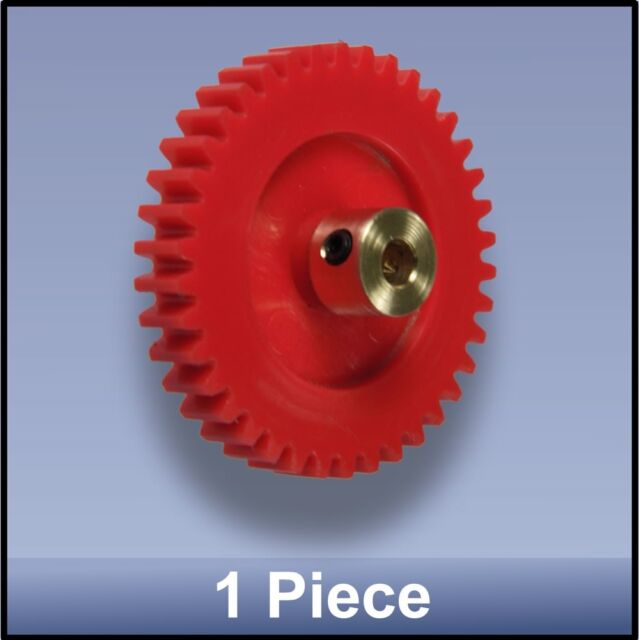 40 MM 38 TOOTH MODULE 1 PRECISION MOULDED BRASS HUB NYLON 66 GEAR - 1 piece