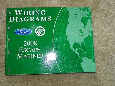 2008 Ford Escape, Mariner Wiring Diagrams | eBay