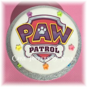Sporting Paw Patrol Logo Edible Cake Topper Frosting Sheet Other Baking Accessories Baking Accs. & Cake Decorating