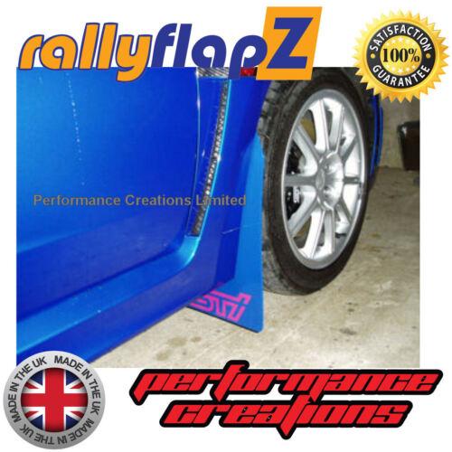 RallyflapZ 4 mm PVC Bleu STi Style Rose 08-14 Bavette SUBARU IMPREZA HAYON