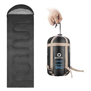 Warm-Weather-Sleeping-Bag-Portable-Waterproof-Compact-Lightweight-83-034-x30-034