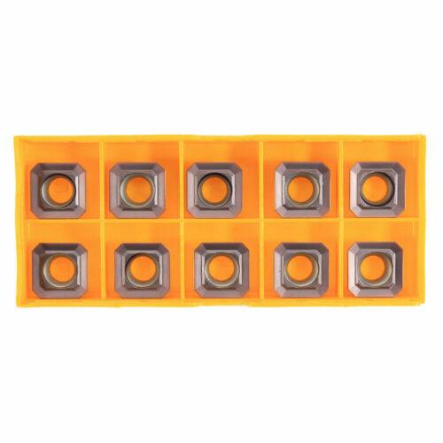 10Pcs SEHT1204AFSN-X45 PC9035 SEHT43AFSN-X45 CNC Lathe Carbide Inserts Set