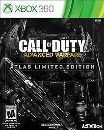 Call Of Duty Advanced Warfare Atlas Limited Edition Microsoft Xbox 360 2014 For Sale Online Ebay