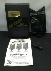 Vintage-Efgeeco-Compact-Hi-Tone-Optonic-Sensor-Fishing-Bite-Alarm-Red-SU908