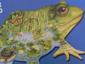 FX Schmid 1000 piece Shaped Puzzle 3 Feet Long Prince of the Pond