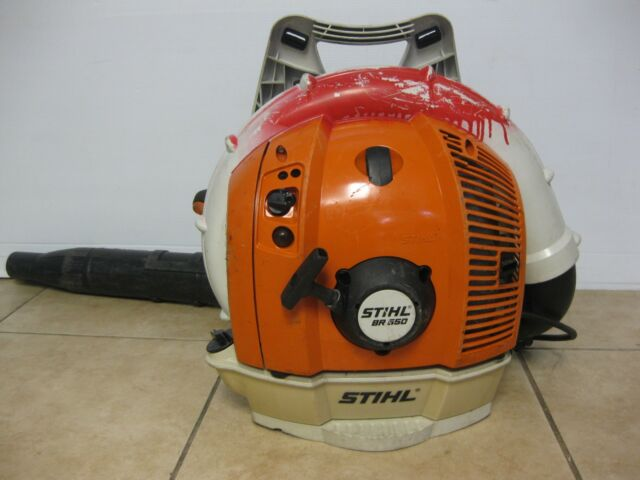 Stihl Br 550 Commercial Gas Backpack Leaf Er 64 8 Cc 3 4 Bhp