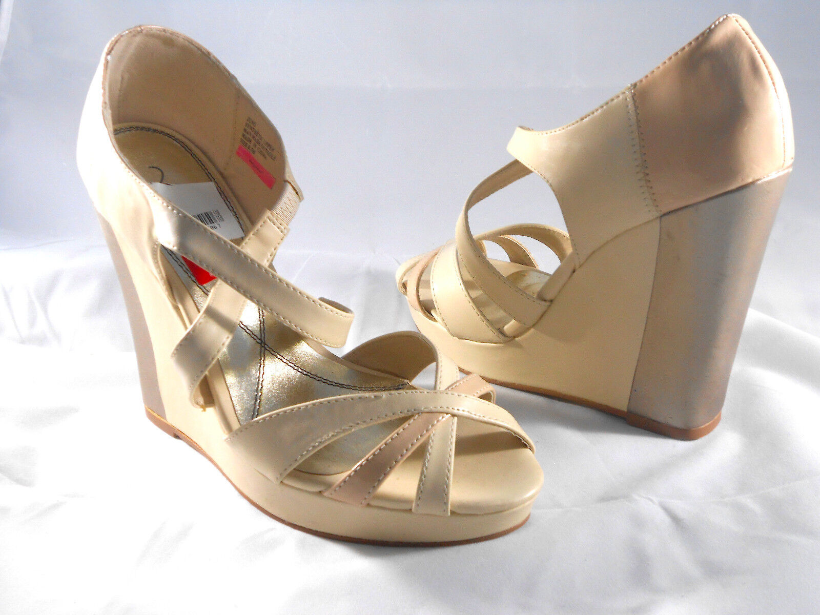 Baby Phat (Juno desnuda Sandalia de cuña) para para para mujer 8.5 Nuevo  Las ventas en línea ahorran un 70%.