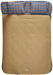 OZTRAIL-NULLARBOR-5cel-DOUBLE-SIZE-TWO-PERSON-DUO-SLEEPING-BAG-PILLOWS
