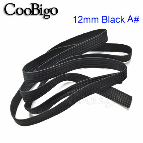 5Yds Elastic Band Rope Stretch String Braided Cord Rubber Tape DIY Making Sewing