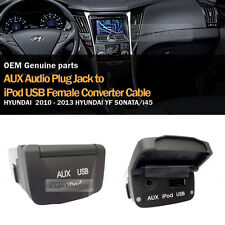 OEM USB Reader iPod AUX Port Adapter for HYUNDAI 2011 2012 2013 YF Sonata i45