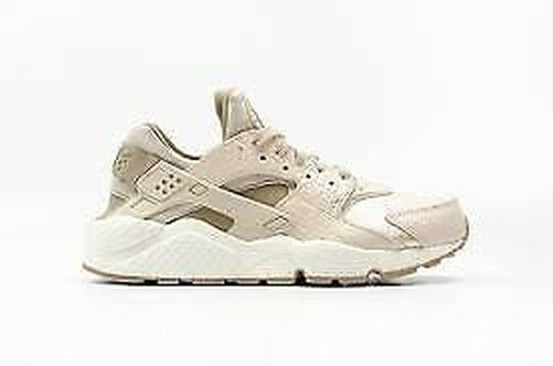 newest 7a4ee 65bab Womens Nike Air Huarache Run Premium 683818-102 Beige trainers