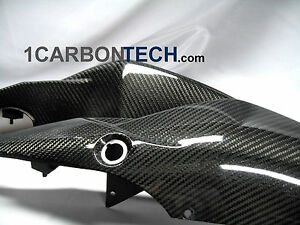 07 08 2007 2008 SUZUKI GSXR 1000 CARBON FIBER TAIL LIGT COWL FAIRINGS