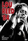 Lou Reed: 84 Broadcast Archives [DVD] by Lou Reed (DVD, May-2012, Blueline)