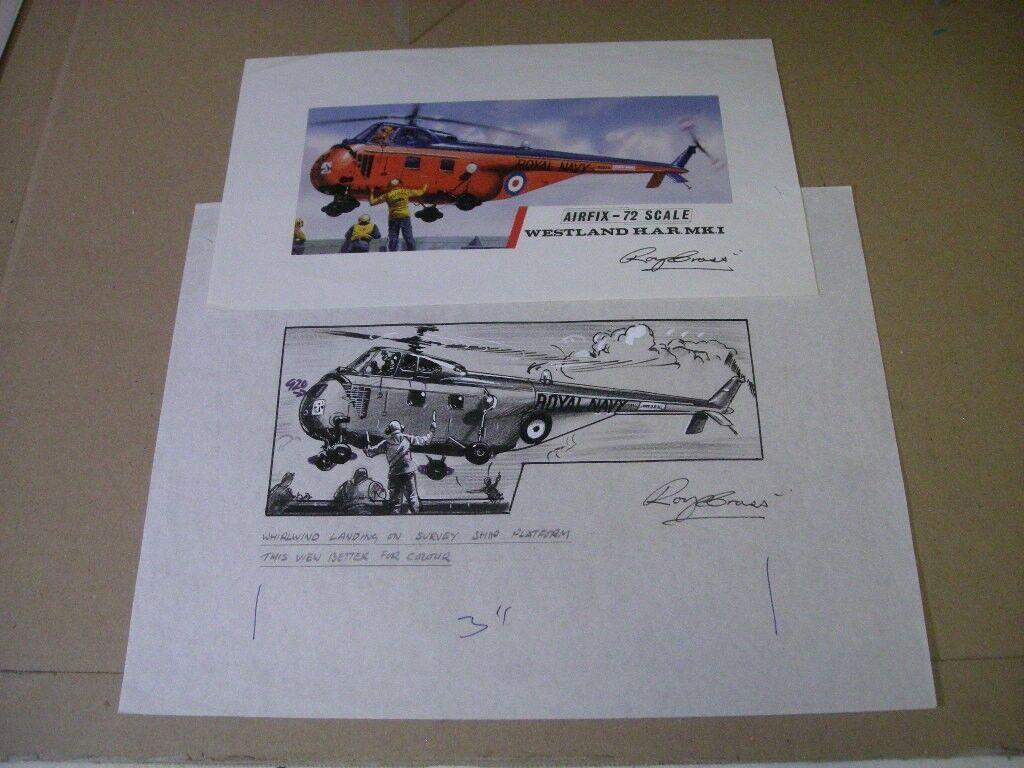 Airfix Rn Westland Whirlwind Har Mki Roy Cruzada Obra de Arte