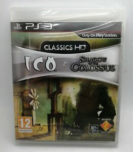 Ico-amp-Shadow-of-the-Colossus-Collect-for-Sony-PlayStation-3-PS3-NEW-amp-SEALED