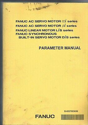 Fanuc Ac Servo Motor Alphai Betai Linear Motor Lis Dis Parameter Manual Mooi En Charmant