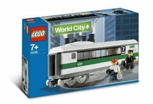 nouveau SEALED LEGO Train 9V  World City 10158 High Speed Train voiture  derniers styles