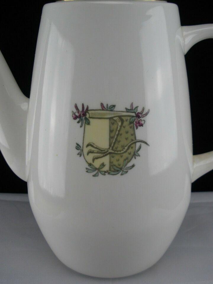Porcelæn, Ridderspore Kaffekande 1520/14256, Royal