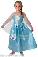 Girls Disney FROZEN Deluxe Elsa Princess Book Day Fancy Dress Costume Outfit