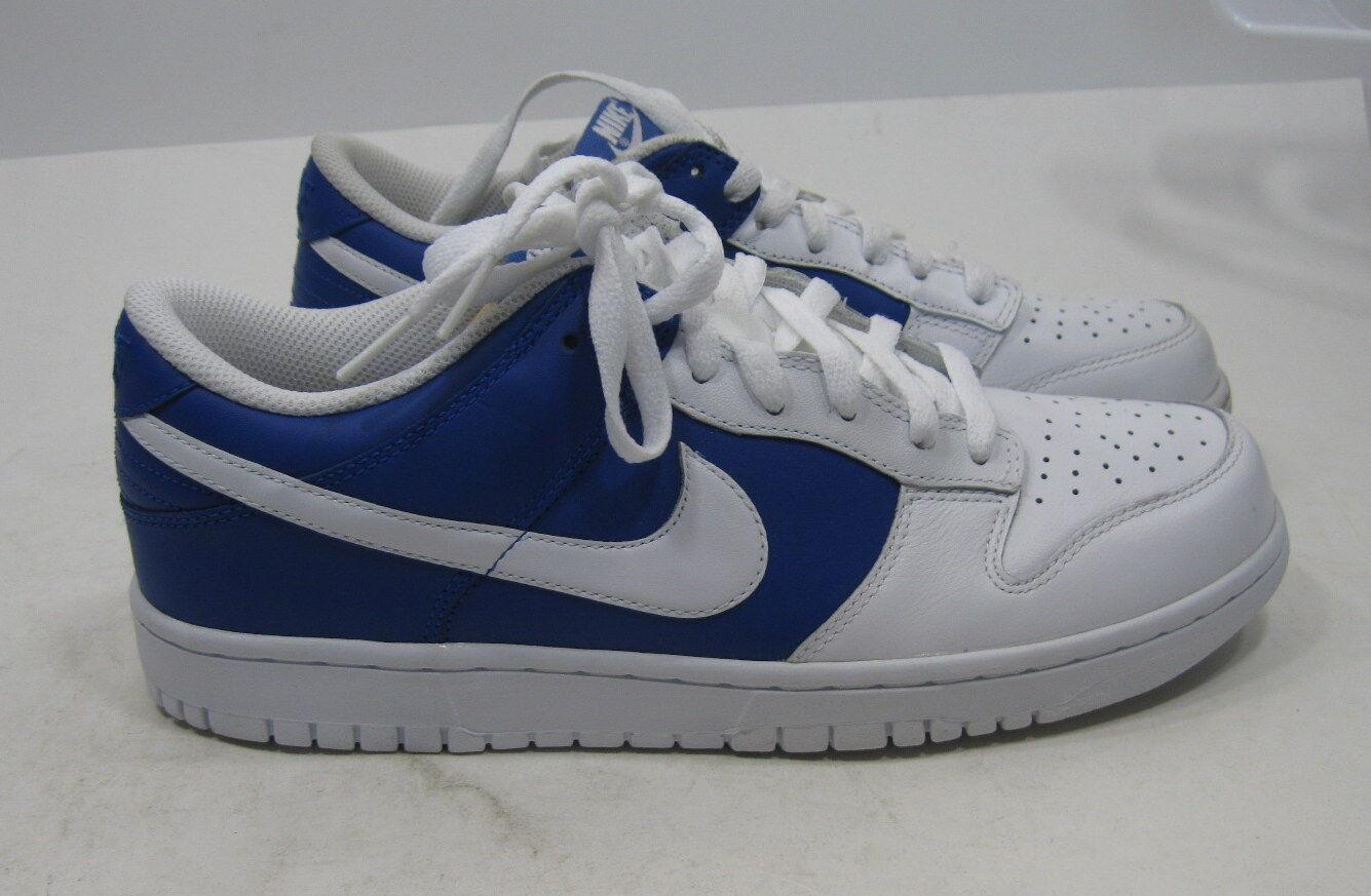 Nike e basso 318019-401 bianco 9 blu uomini scarpe taglia 9 bianco 9e7333