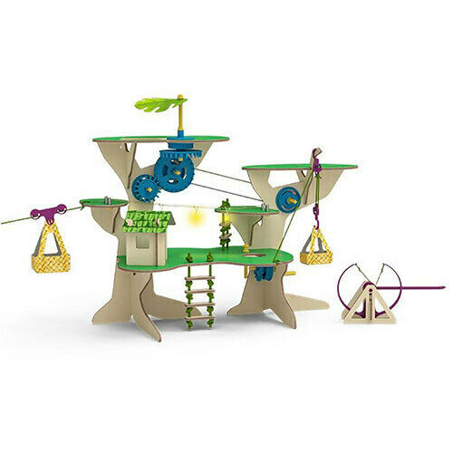 Thames and Kosmos Peppermint Treehouse Fun Mechanical Learning DIY Science Toy