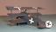 Roden-010-German-airplane-Fokker-DrI-World-War-I-1-72-scale-model-kit-100-mm miniature 2