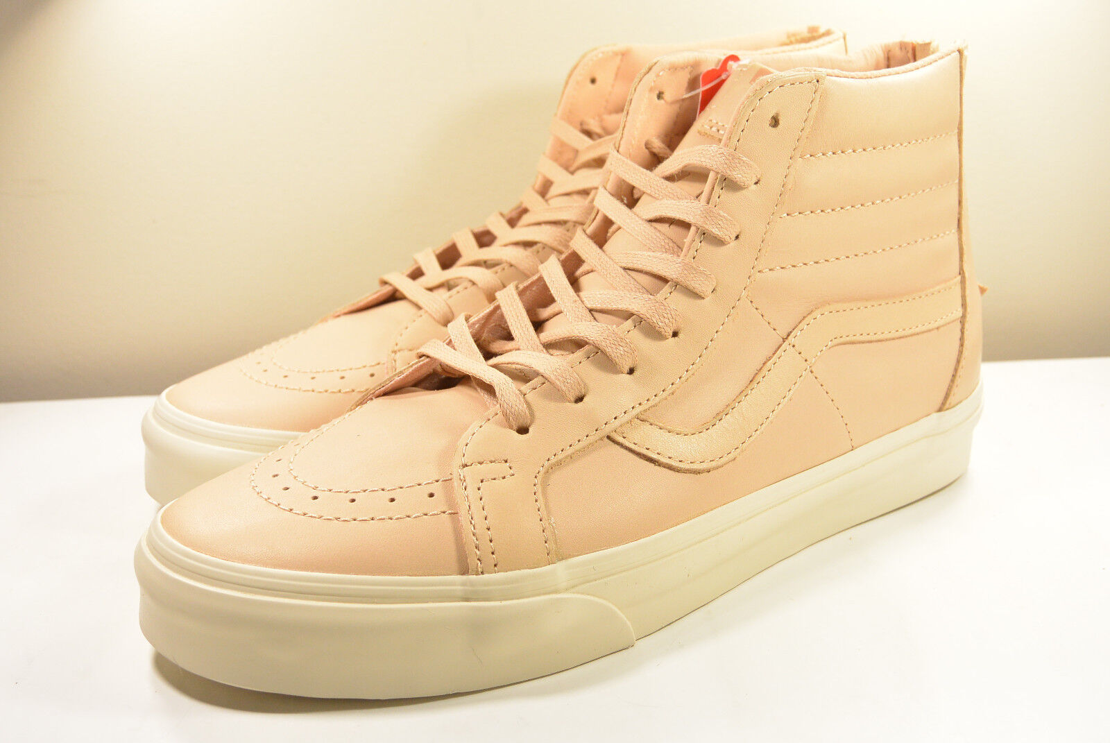 DS 2017 VANS SK8- HI REISSUE VEGGIE TAN VECHETTA LEATHER 10, 12, 13