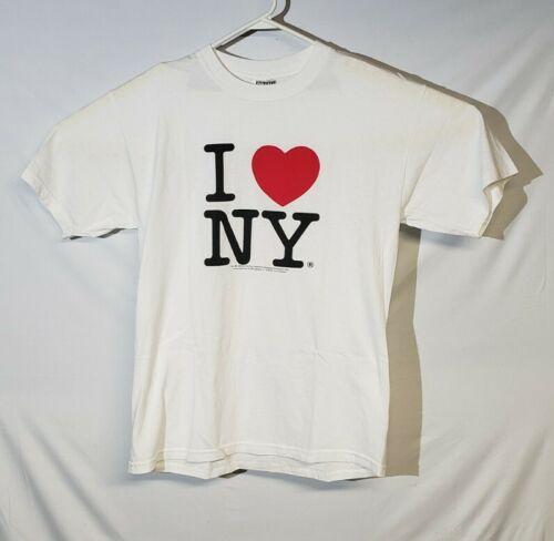 Vintage I Love New York T Shirt Mens Large Manhatt