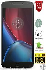 Moto G4 Plus 4th Gen, 3GB-32GB, 4G, Jio, Motorola Warranty, Same Day Ship, BLACK